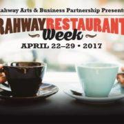 Rahway Restaurant Week 2017