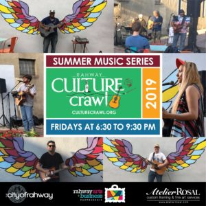Culture Crawl Summer Music Series 2019 @ The Paseo