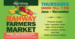 Rahway Farmer's Market @ Rahway Train Station Plaza