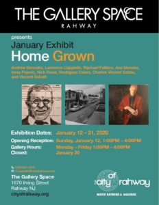 "January Exhibit ""Home Grown"": Opening Reception @ The Gallery Space"