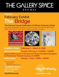 """February Exhibit """"The Bridge"""" @ The Gallery Space"""