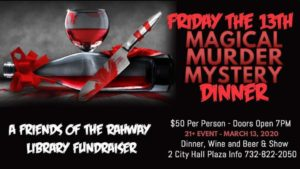 2020 Murder Mystery Dinner @ Rahway Public Library