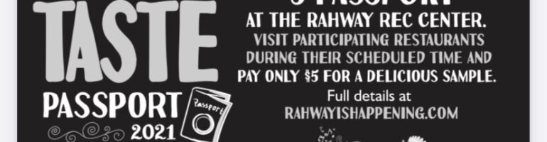 Grab Your Passport and Let's Go to Rahway's Taste of Spring!