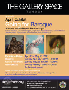 """""""Going for Baroque"""" Art Exhibit at The Gallery Space @ The Gallery Space"""