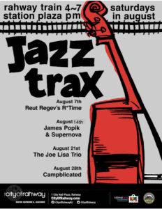 Jazz Trax @ Train Station Plaza