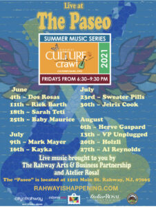 Culture Crawl Summer Music Series - Paseo @ Paseo de Artiste