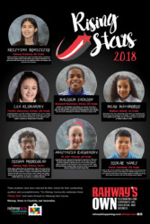 Rahways Own Rising Stars 2018 FINAL